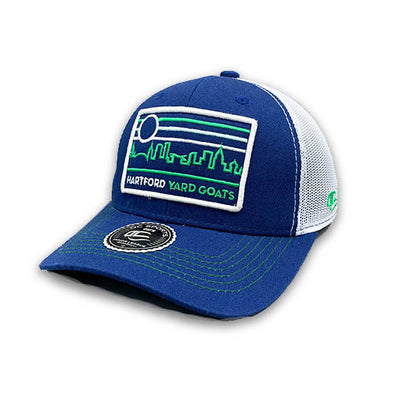 Hartford Yard Goats OC Sports Shire Skyline Patch Adjustable Cap