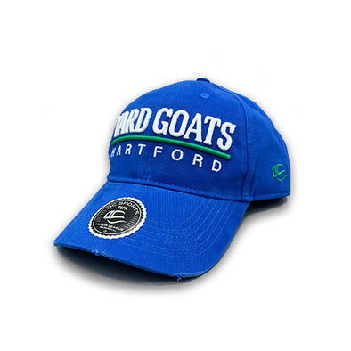 Hartford Yard Goats OC Sports Adult Skipper Relaxed Snap Back in Royal Blue