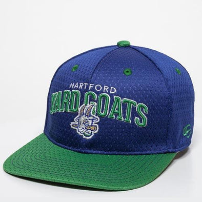 Hartford Yard Goats OC Sports Starter Snap Back in Blue / Green