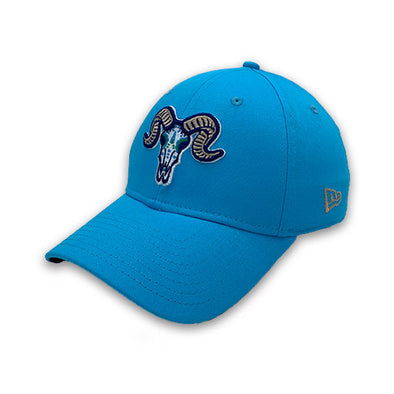 Hartford Yard Goats New Era Los Chivos Flex Fit in Teal