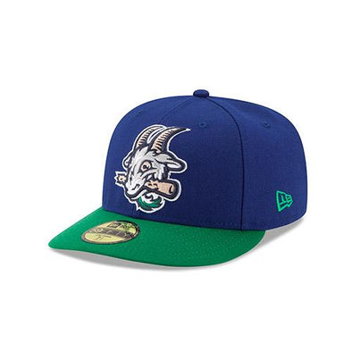 Hartford Yard Goats New Era Low Profile Official Two Tone Cap