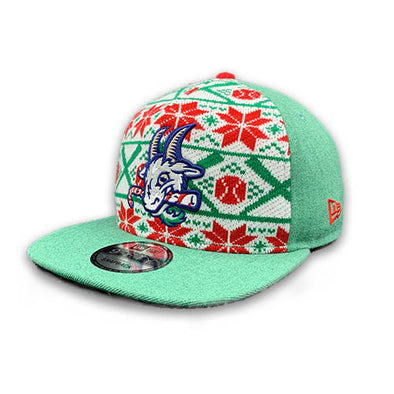 Hartford Yard Goats Ugly Sweater Snap-Back