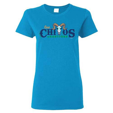Women's Los Chivos De Hartford T-Shirt Teal