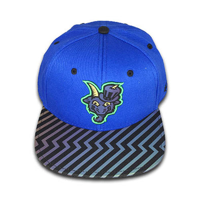 Hartford Yard Goats OC Sports Youth Bolt Snap Back in Blue