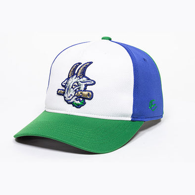 Hartford Yard Goats OC Sports Yth Pinwheel Adjustable Cap