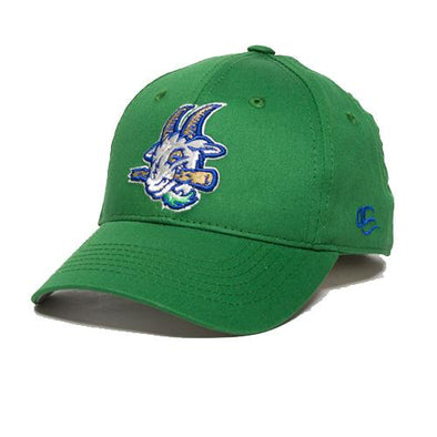 Hartford Yard Goats Youth OC Road Cap in Kelly Green