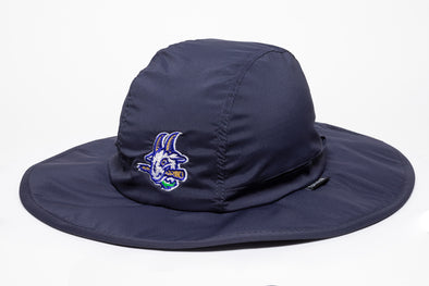 Hartford Yard Goats OC Sports Bucket Hat w/ Strings in Navy