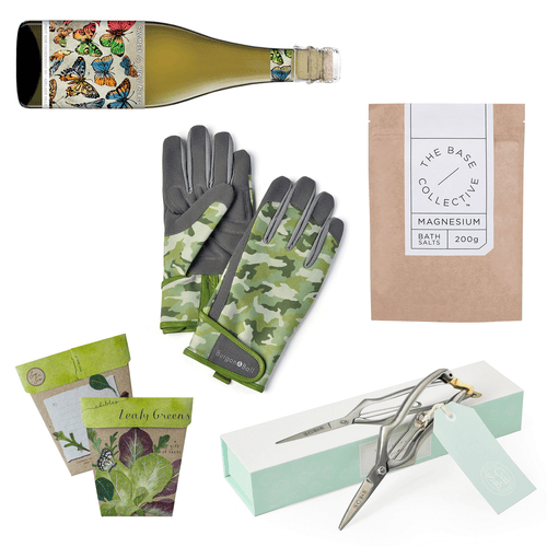 A Day in the Garden - The Perfect Gift Hamper for Him | Gift Baskets | Plant Gifts | The Potted Garden
