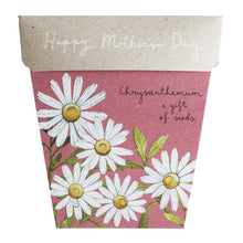 Chrysanthemum Mother's Day Gift of Seeds - Gift Card