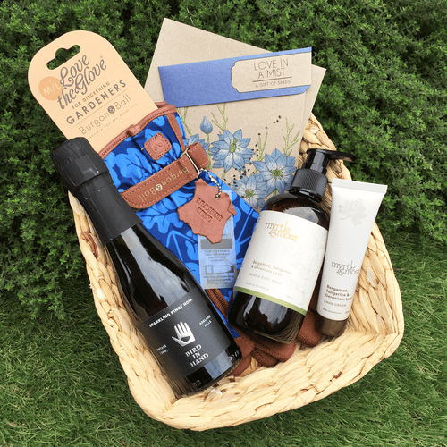 Bubbles in the Garden - The Perfect Gift Hamper for Lovers