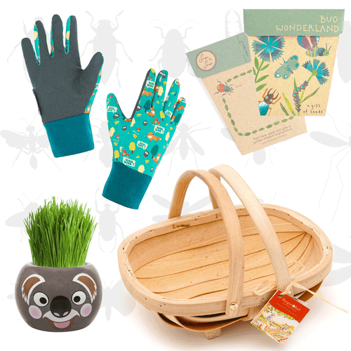 Kids Gardening Gift Set - Teal