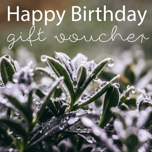 Happy Birthday Gift Vouchers
