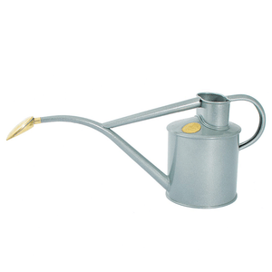 Watering Can - Metal Indoor 1Litre - Titanium