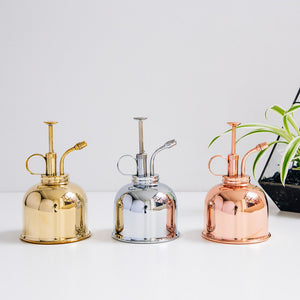 Nickel Plant Mister | Plant Mister | Plant Gifts | The Potted Garden