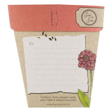 Hooray Zinnia - Gift of Seeds | Seeds | Plant Gifts | The Potted Garden