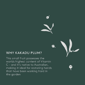 Why Kakadu Plum?