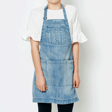 Kids Garden Apron - Stone Washed  Denim