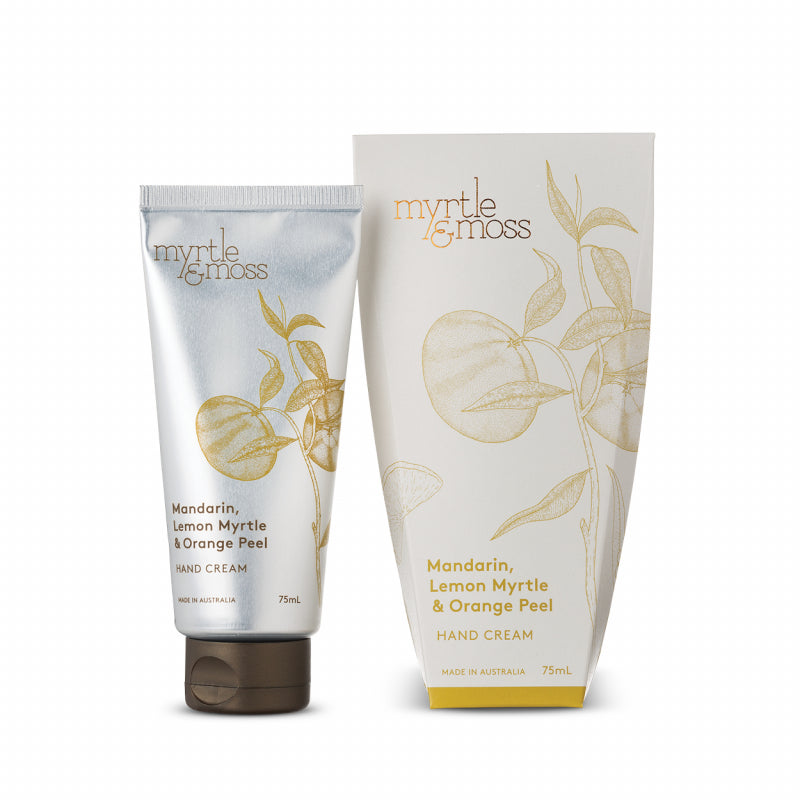 Myrtle & Moss Hand Cream - Mandarin, Lemon Myrtle & Orange Peel