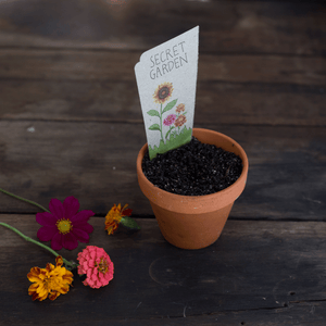Secret Garden Gift Card of Seeds