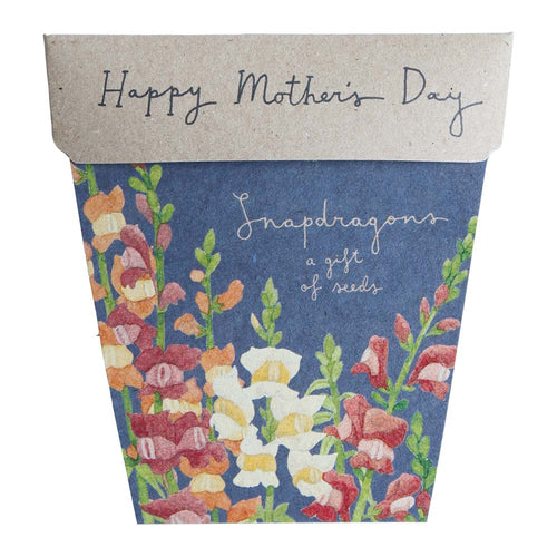 Snapdragons Mother's Day Gift of Seeds - Gift Card