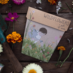 Wildflowers Gift Card of Seeds