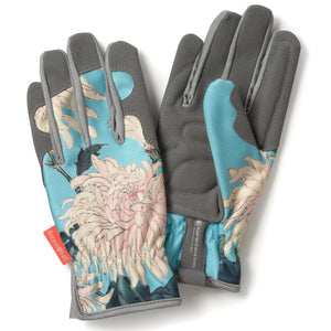 Chrysanthemum Women's Gardening Gloves by Burgon & Ball | Gardening Gloves | Plant Gifts | The Potted Garden