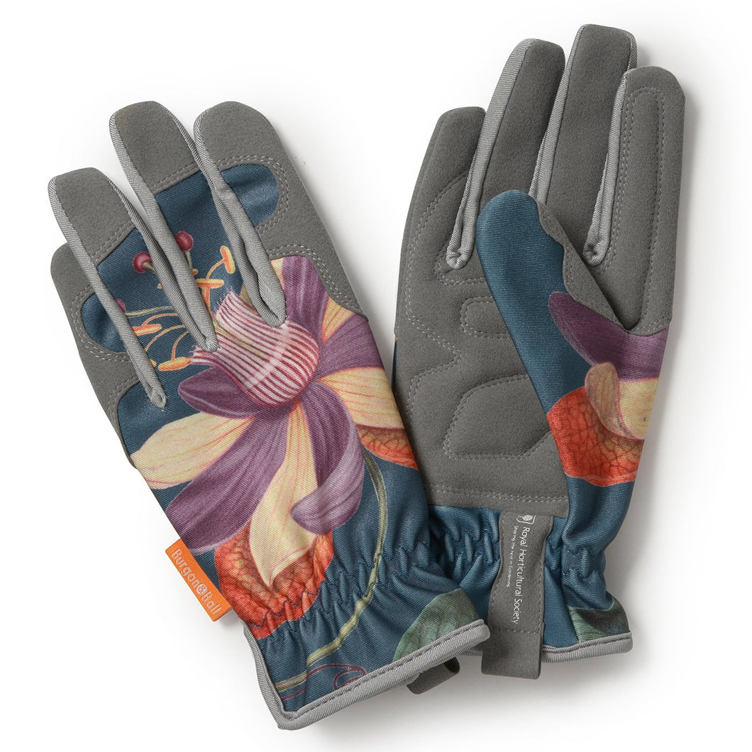 Passiflora Women's Gardening Gloves by Burgon & Ball | Gardening Gloves | Plant Gifts | The Potted Garden