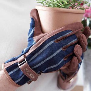 Garden Glove & Apron Christmas Gift Set for Her | Gift Pack | Plant Gifts | The Potted Garden