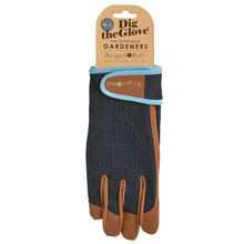 Burgon & Ball Gardening Gloves For Men, Denim | Gardening Gloves | Plant Gifts | The Potted Garden