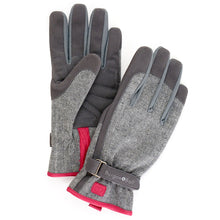 Burgon & Ball Gardening Gloves For Women, Grey Tweed