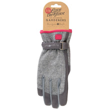 Burgon & Ball Gardening Gloves For Women, Grey Tweed | Gardening Gloves | Plant Gifts | The Potted Garden
