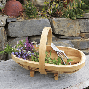 Traditional Harvesting Trug - Medium |  | Plant Gifts | The Potted Garden