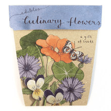 Culinary Flowers - Gift of Seeds | Seeds | Plant Gifts | The Potted Garden