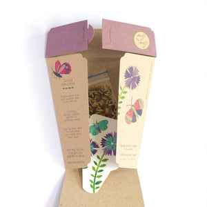 Enchanted Garden Gift Card of Seeds - Open