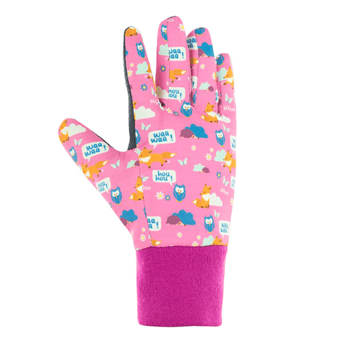 Foxy Gloves.  Kids Gardening Gloves, Pink