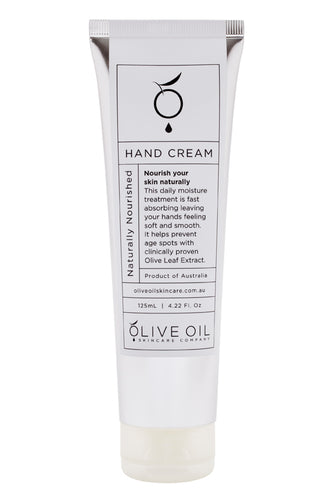 Olive Oil Skincare - Naturally Nourished Hand Cream