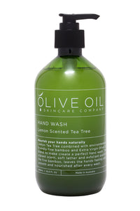 Olive Oil Skincare - Lemon Scented Tea Tree Hand Wash