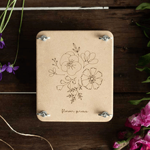 Posy Mini Flower Press |  | Plant Gifts | The Potted Garden