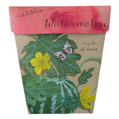 Watermelon - Gift of Seeds | Seeds | Plant Gifts | The Potted Garden