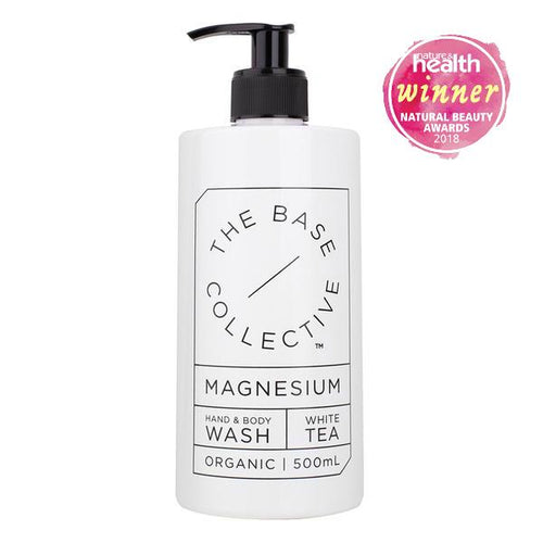 The Base Collective - Magnesium + White Tea Hand & Body Wash