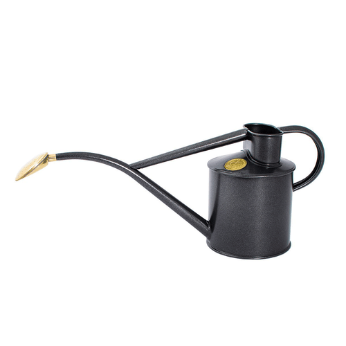 Watering Can - Metal Indoor 1Litre - Graphite