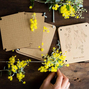 Wattle Mini Flower Press