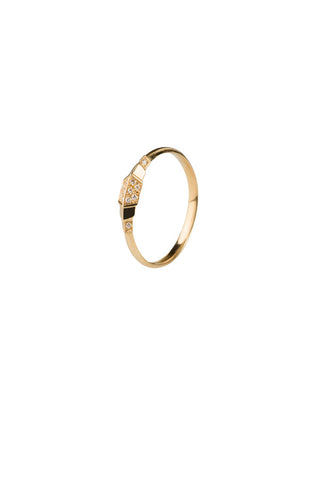 ADOREE DIAMOND RING - 14K YELLOW GOLD