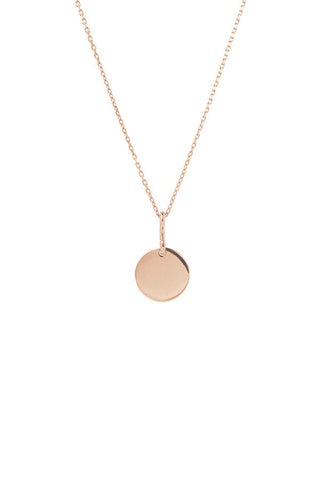 BELL NECKLACE 65 - ROSE GOLD
