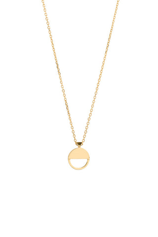 CARO NECKLACE - HIGH POLISHED GOLD