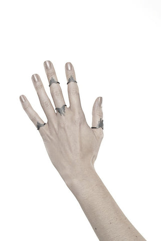 CASCADE RING - BLACK
