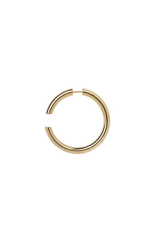 DISRUPTED 40 EARRING - HIGH POLISHED GOLD