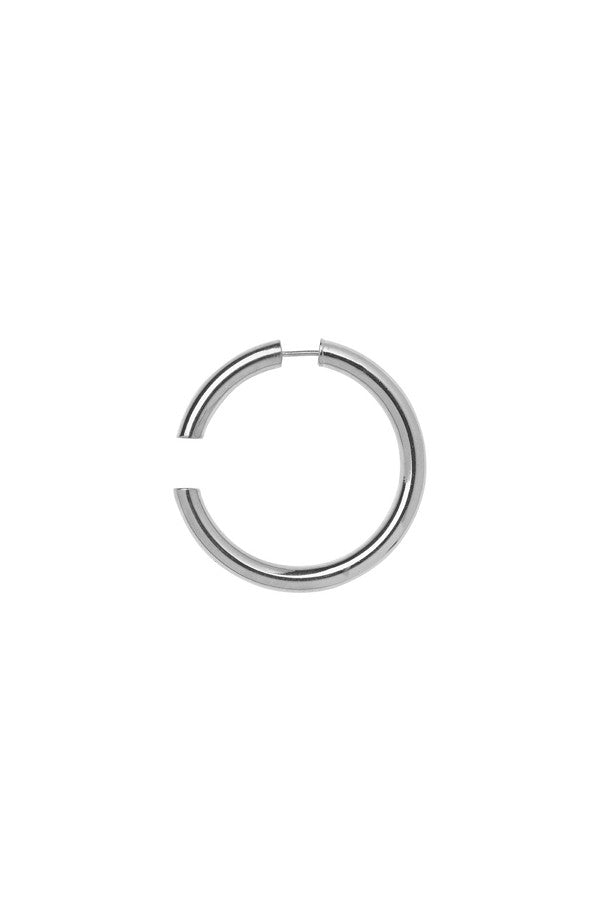 DISRUPTED 40 EARRING - SILVER