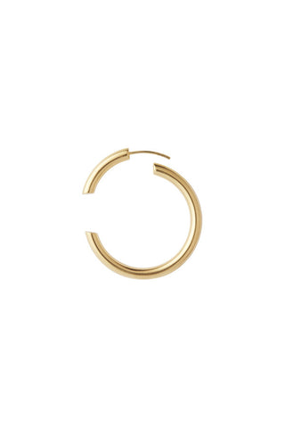 DISRUPTED 40 EARRING - GOLD