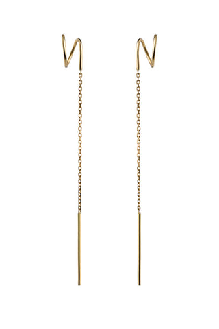 AILEEN TWIRL EARRING - 18K YELLOW GOLD